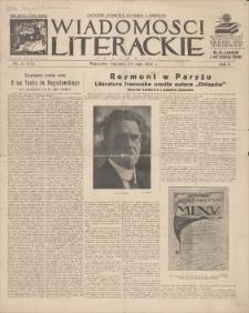Wiadomości Literackie. R. 2, 1925, nr 21 (73), 24 V