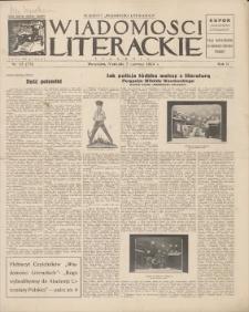 Wiadomości Literackie. R. 2, 1925, nr 23 (75), 7 VI