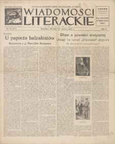 Wiadomości Literackie. R. 2, 1925, nr 25 (77), 21 VI