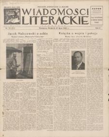Wiadomości Literackie. R. 2, 1925, nr 30 (82), 26 VII