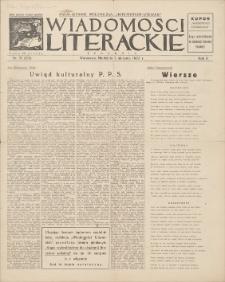 Wiadomości Literackie. R. 2, 1925, nr 31 (83), 2 VIII