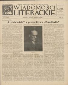 Wiadomości Literackie. R. 2, 1925, nr 38 (90), 20 IX
