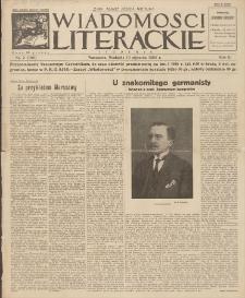 Wiadomości Literackie. R. 3, 1926, nr 2 (106), 10 I