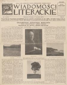 Wiadomości Literackie. R. 3, 1926, nr 3 (107), 17 I