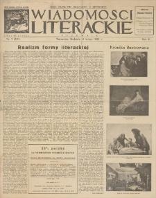 Wiadomości Literackie. R. 3, 1926, nr 7 (111), 14 II