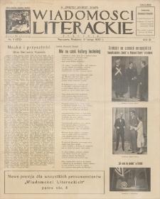 Wiadomości Literackie. R. 3, 1926, nr 8 (112), 21 II