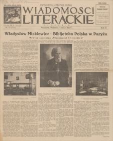 Wiadomości Literackie. R. 3, 1926, nr 10 (114), 7 III
