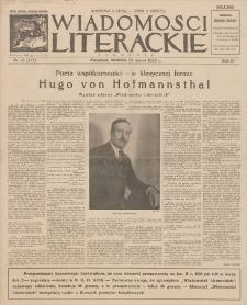 Wiadomości Literackie. R. 3, 1926, nr 13 (117), 28 III