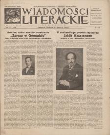 Wiadomości Literackie. R. 3, 1926, nr 17 (121), 25 IV