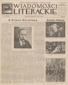 Wiadomości Literackie. R. 3, 1926, nr 19 (123), 9 V
