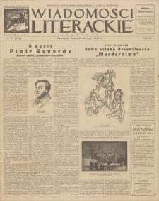 Wiadomości Literackie. R. 3, 1926, nr 21 (125), 23 V
