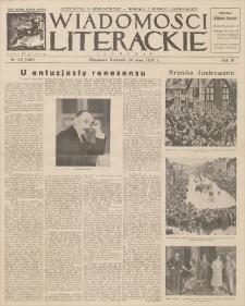 Wiadomości Literackie. R. 3, 1926, nr 22 (126), 30 V