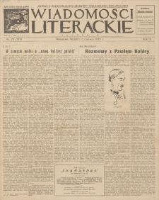Wiadomości Literackie. R. 3, 1926, nr 23 (127), 6 VI