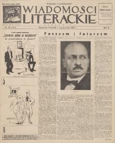 Wiadomości Literackie. R. 3, 1926, nr 40 (144), 3 X