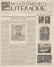 Wiadomości Literackie. R. 3, 1926, nr 49 (153), 5 XII