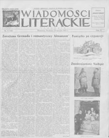 Wiadomości Literackie. R. 4, 1927, nr 4 (160), 23 I