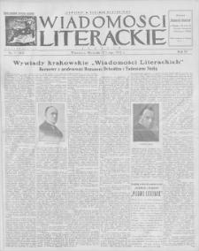 Wiadomości Literackie. R. 4, 1927, nr 7 (163), 13 II