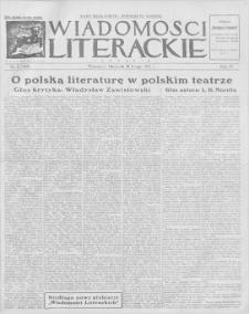 Wiadomości Literackie. R. 4, 1927, nr 8 (164), 20 II