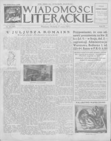 Wiadomości Literackie. R. 4, 1927, nr 13 (169), 27 III