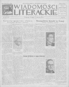 Wiadomości Literackie. R. 4, 1927, nr 16 (172), 17 IV