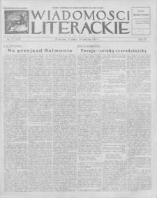 Wiadomości Literackie. R. 4, 1927, nr 17 (173), 24 IV