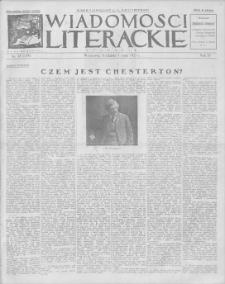 Wiadomości Literackie. R. 4, 1927, nr 18 (174), 1 V