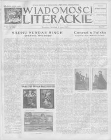 Wiadomości Literackie. R. 4, 1927, nr 19 (175), 8 V