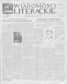 Wiadomości Literackie. R. 4, 1927, nr 21 (177), 22 V