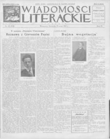 Wiadomości Literackie. R. 4, 1927, nr 22 (178), 29 V
