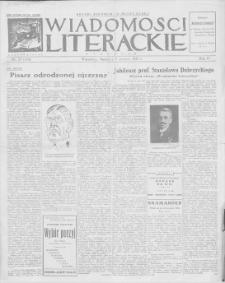 Wiadomości Literackie. R. 4, 1927, nr 23 (179), 5 VI