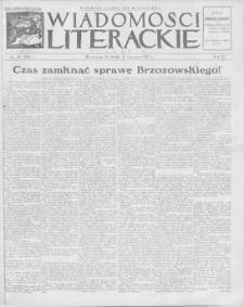 Wiadomości Literackie. R. 4, 1927, nr 24 (180), 12 VI