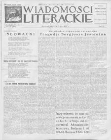 Wiadomości Literackie. R. 4, 1927, nr 27 (183), 3 VII