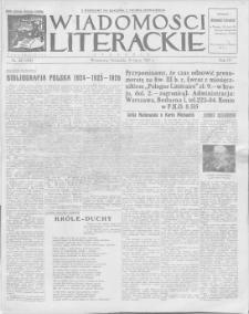 Wiadomości Literackie. R. 4, 1927, nr 28 (184), 10 VII