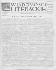 Wiadomości Literackie. R. 4, 1927, nr 32 (188), 7 VIII