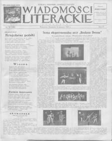 Wiadomości Literackie. R. 4, 1927, nr 33 (189), 14 VIII