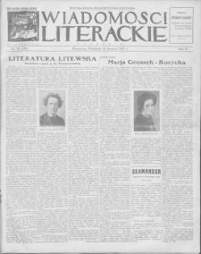 Wiadomości Literackie. R. 4, 1927, nr 34 (190), 21 VIII