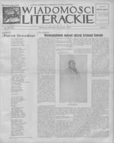 Wiadomości Literackie. R. 4, 1927, nr 39 (195), 25 IX