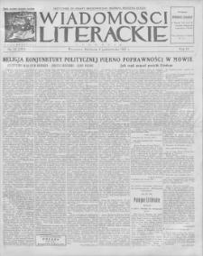 Wiadomości Literackie. R. 4, 1927, nr 41 (197), 9 X