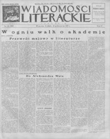 Wiadomości Literackie. R. 4, 1927, nr 44 (200), 30 X