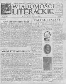 Wiadomości Literackie. R. 4, 1927, nr 47 (203), 20 XI