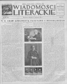 Wiadomości Literackie. R. 4, 1927, nr 48 (204), 27 XI