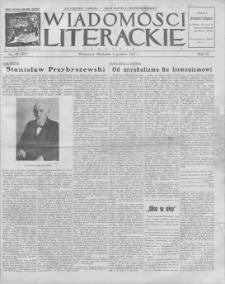 Wiadomości Literackie. R. 4, 1927, nr 49 (205), 4 XII