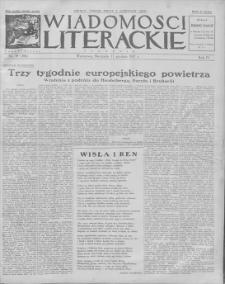 Wiadomości Literackie. R. 4, 1927, nr 50 (206), 11 XII
