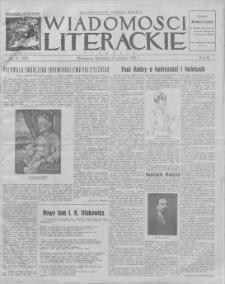 Wiadomości Literackie. R. 4, 1927, nr 51 (207), 18 XII