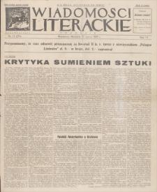 Wiadomości Literackie. R. 6, 1929, nr 13 (274), 31 III