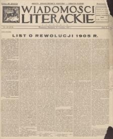 Wiadomości Literackie. R. 10, 1933, nr 42 (513), 24 IX