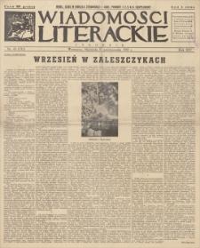 Wiadomości Literackie. R. 14, 1937, nr 45 (731), 31 X