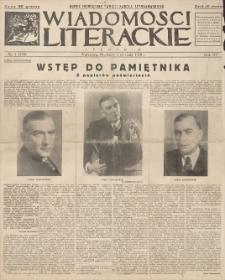Wiadomości Literackie. R. 15, 1938, nr 1 (740), 2 I