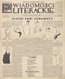 Wiadomości Literackie. R. 15, 1938, nr 14 (753), 27 III