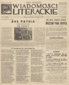 Wiadomości Literackie. R. 15, 1938, nr 17 (756), 17 IV